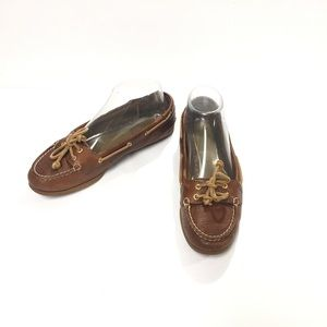 Sperry Top-Sider Boat Shoes Audrey Slip-On Size 7M